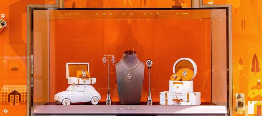 To Fiat 500 μεταφέρει τα κοσμήματα της Bulgari