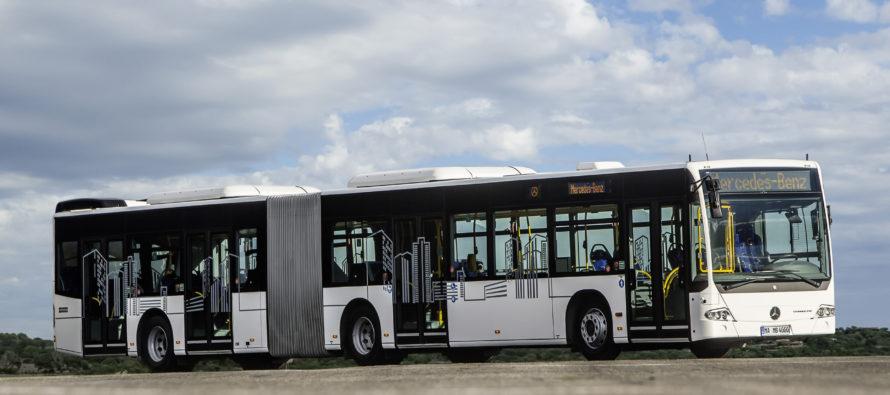 Λεωφορεία της Mercedes φτάνουν στην Πολωνία