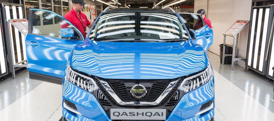 Έναρξη παραγωγής για το ανανεωμένο Nissan Qashqai