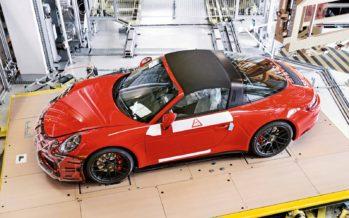 Η Porsche 911 Targa 4 GTS με αριθμό παραγωγής 999.999