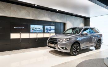 Η Mitsubishi σε έναν καινοτόμο εκθεσιακό χώρο