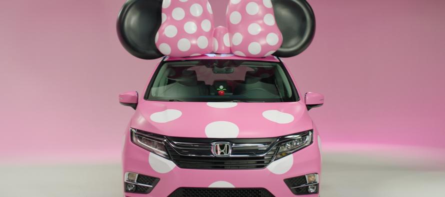 Το Honda Odyssey της Μίνι Μάους (video)
