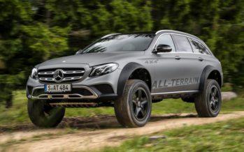 Η θηριώδης Mercedes E-Class All Terrain 4×4²