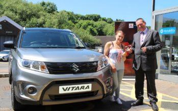 Ένα Suzuki Vitara για μια Παραολυμπιονίκη