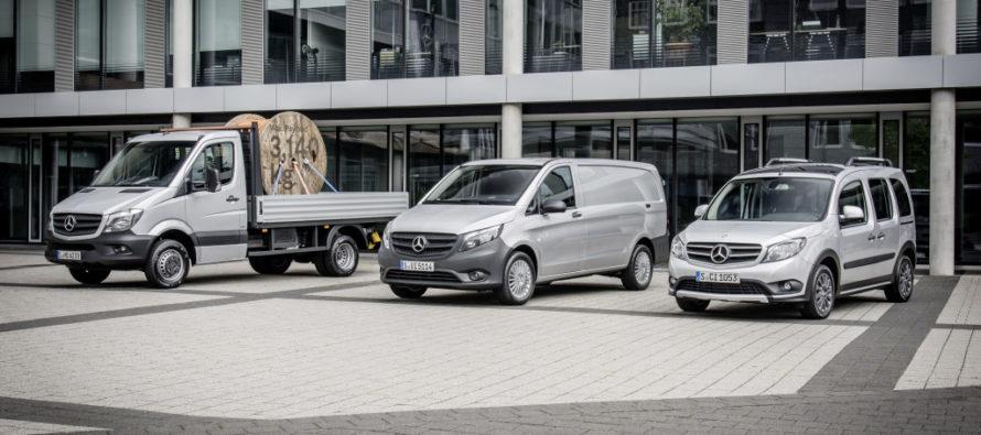 Τα βαν της Mercedes αύξησαν τις πωλήσεις τους