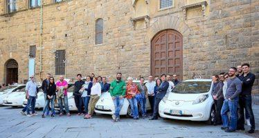 Τα ηλεκτροκίνητα ταξί Nissan Leaf εξαπλώνονται στην Ευρώπη