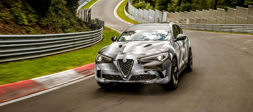 Η Alfa Romeo Stelvio Quadrifoglio είναι το ταχύτερο SUV (video)