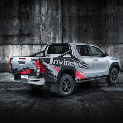 Hilux-Invincible-50-show-car-3-4-Rear