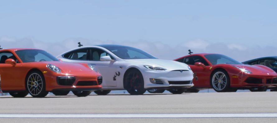 Νικητής έκπληξη στην κόντρα των 12 supercars (video)