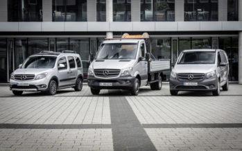 Διάκριση για τα επαγγελματικά οχήματα της Mercedes
