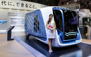 Το Isuzu Concept FD-SI με κυψέλες αποθήκευσης εμπορευμάτων