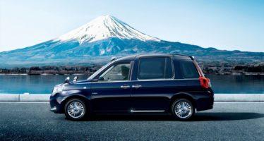 Το ιαπωνικό ταξί της Toyota με βρετανική φινέτσα