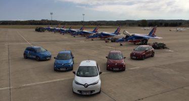 To Renault ZOE φορτίζει για να τρέξει σε ράλι