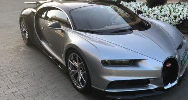 O Ρονάλντo έκανε δική του μια Bugatti Chiron