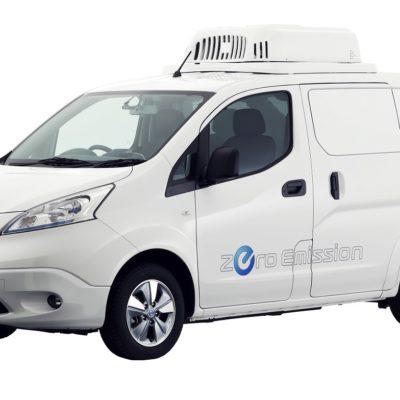 Nissan LCV at Tokyo Motor Show e-NV200 Fridge Concept