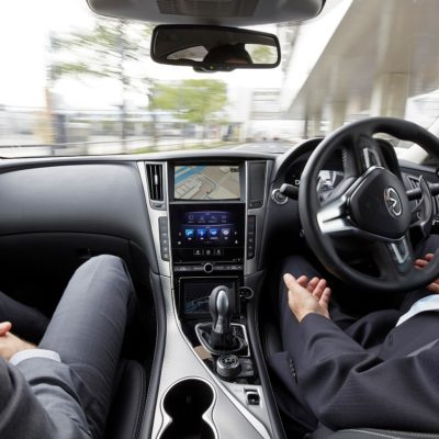Nissan tests fully autonomous prototype technology on streets of Tokyo