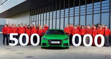 500.000 Audi από το εργοστάσιο της Ουγγαρίας