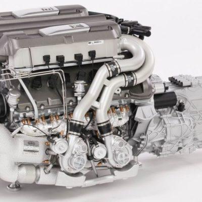 Amalgam-Bugatti-Chiron-Engine-Model-1