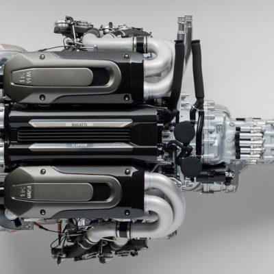 Amalgam-Bugatti-Chiron-Engine-Model-2