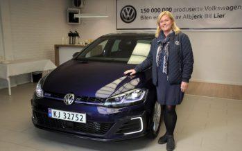 To Volkswagen Golf με αριθμό παραγωγής 150.000.000