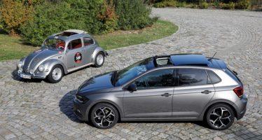 Από την ηλιοροφή του Volkswagen Beetle στου σύγχρονου Polo