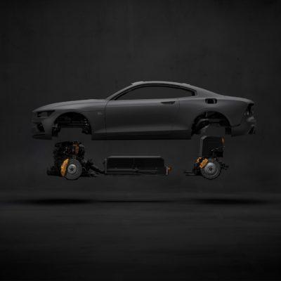 Polestar 1 carbon body + drivetrain