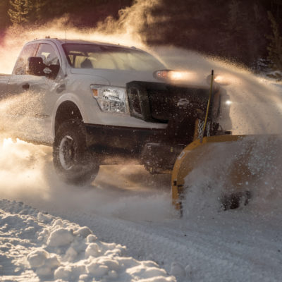 Nissan TITAN XD Snow Plow Prep Package