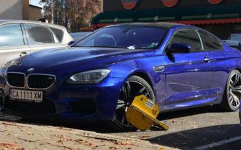 Μια BMW M6 πιάστηκε στη δαγκάνα του νόμου