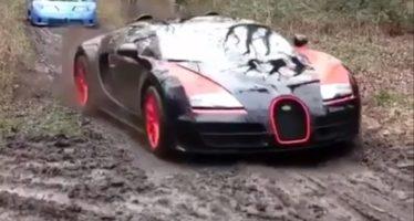 Δείτε τι γίνεται όταν τα supercars πατούν χώμα (video)