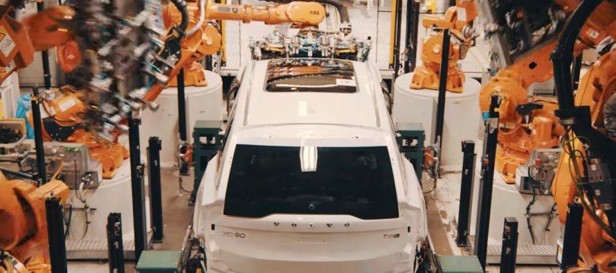 Δείτε πως κατασκευάζεται το Volvo XC90 (video)