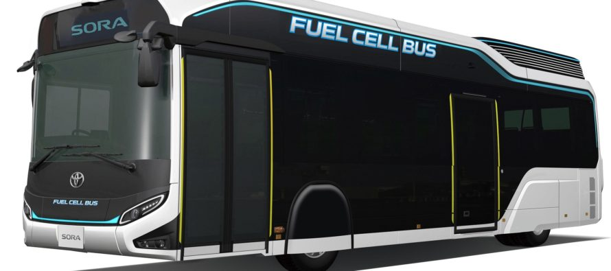 Το λεωφορείο Toyota Sora κινείται με υδρογόνο