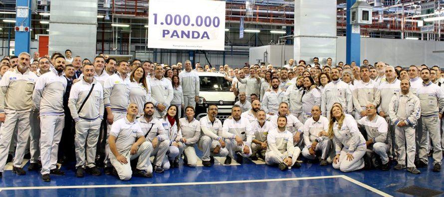 Ένα εκατομμύριο Fiat Panda στους δρόμους