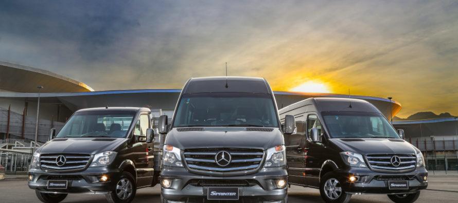 To Mercedes Sprinter διαπρέπει στη Βραζιλία