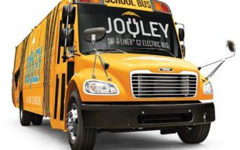 Το πρώτο αμιγώς ηλεκτροκίνητο σχολικό λεωφορείο