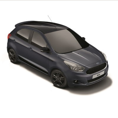 The stylish and distinctive new Ford KA+ Colour Edition