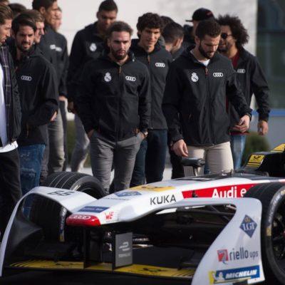 Audi e-tron FE04, Sergio Ramos, Daniel Carvajal, Isco
