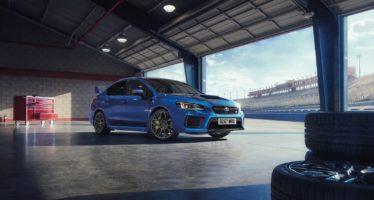 Αυλαία για το Subaru WRX STI με την Final Edition
