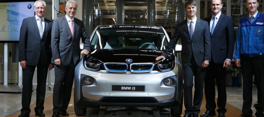Η BMW γιορτάζει την παραγωγή 100.000 i3