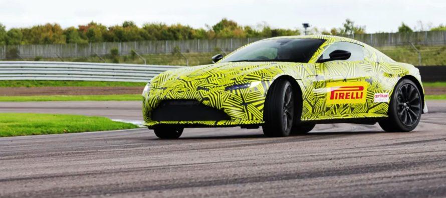 Με πάνω από 500 ίππους η νέα Aston Martin Vantage (video)