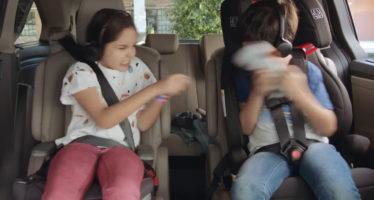 Το Honda Odyssey σταματά τους παιδικούς καβγάδες (video)