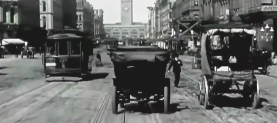 Υπήρχε κίνηση στους δρόμους το 1906; (video)