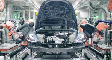 Η υπερσύγχρονη γραμμή παραγωγής του Tesla Model 3 (video)