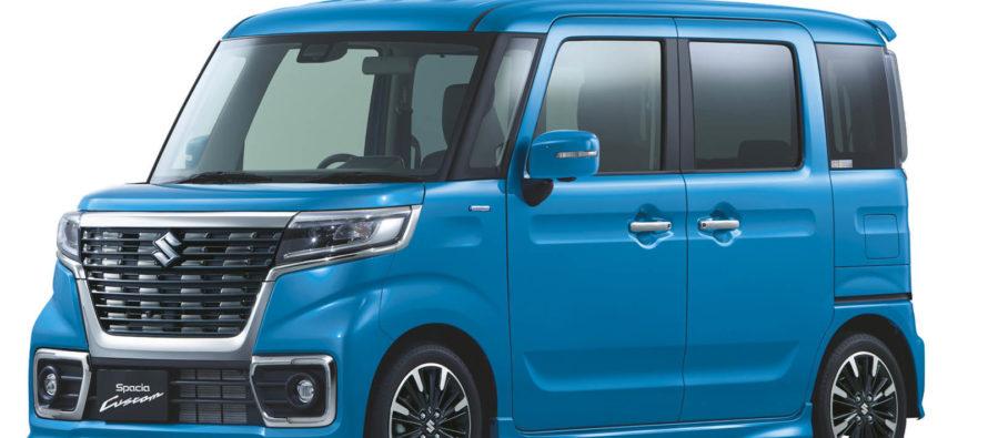 Το διαφορετικό Suzuki Spacia είναι μικρό μόνο στο μάτι