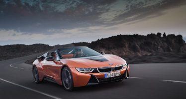 Το BMW i8 τώρα και χωρίς οροφή (video)