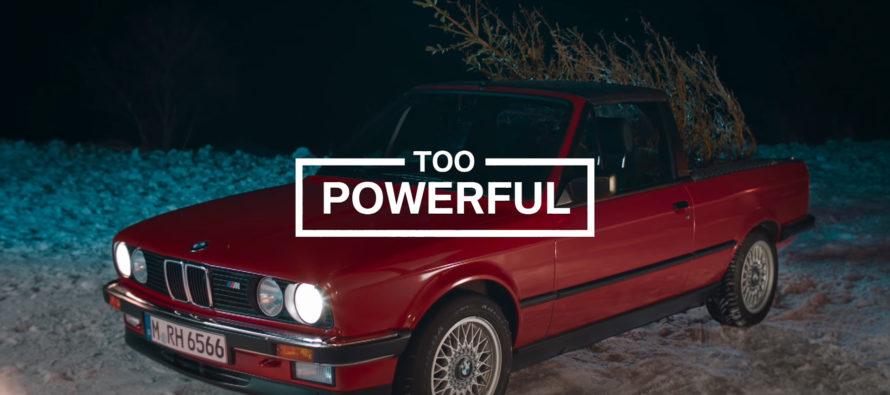 Τι γίνεται όταν μεταφέρεις χριστουγεννιάτικο δέντρο με BMW; (video)