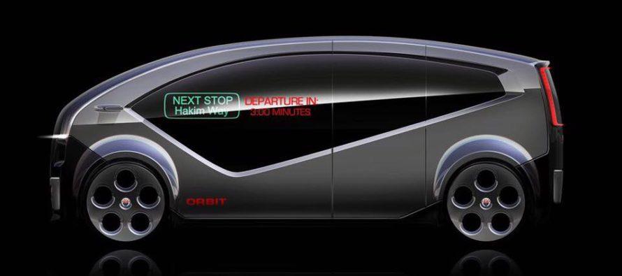 Το αυτόνομο και ηλεκτρικό λεωφορείο Fisker Orbit