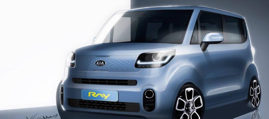 Το νέο Kia Ray σε σκίτσα
