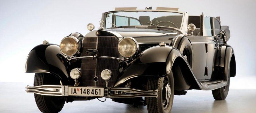 Πωλείται μια Mercedes 770K Grosser που ανήκε στον Χίτλερ