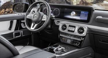 Δείτε το εσωτερικό της νέας Mercedes G-Class