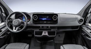 Αποκαλύφτηκε το εσωτερικό του νέου Mercedes Sprinter